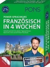 PONS Power-Sprachkurs Französisch in 4 Wochen (2017, Kunststoffeinband)