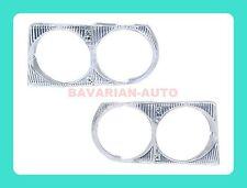 Mercedes R107 380SL 380SL 450SL 560SL Left & Right Headlight Frame Trim Cover