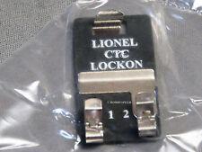 LIONEL CTC TRACK LOCKON train lock-on connector terminal tubular 6-62900 NEW