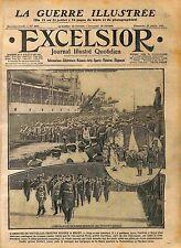 Sailors Soldiers Russia Army Port de Brest Amiral Louis-Joseph Pivet  WWI 1916