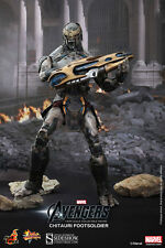 HOTTOYS FROM THE MOVIE THE AVENGERS THE CHITAURI FOOTSOLDIER 12 INCH FIGURE