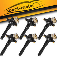 6pcs Ignition Coils on Plug Pack For BMW 323Ci 323i 325Ci 2.5L L6 M3 M5 X5 UF354