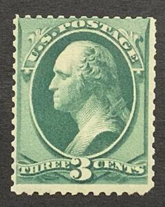 Travelstamps: US Stamps Scott #158 3 Cent Washington Mint OG NH