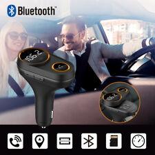 Auto FM Transmitter Bluetooth KFZ Radio Adapter Freisprechanlage MP3 Player TF