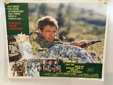 FORCE 10 FROM NAVARONE 1978 Harrison Ford 11x14 Color LOBBY CARD # 3