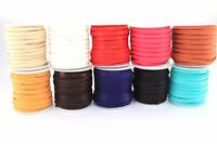 """Deerskin Deer Leather Lace Spool Roll 3/16"""" 5MM x 50 FT Lacing Cord String Craft"""