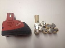 1 kit battery batterie bateria  hilti SFB 2Ah(no battery only 1 pack 10 cells)