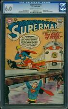 Superman # 123 CGC (6.0)  D.C. Comics Aug. 1958