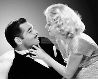 """CLARK GABLE & JEAN HARLOW IN THE FILM """"RED DUST"""" - 8X10 PUBLICITY PHOTO (RT377)"""