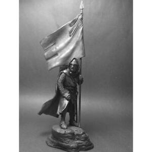 CRUSADERS Knight Templar 12th century Metal Figure 1/32 Tin Toy Soldiers