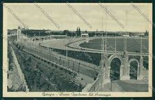 Bologna città Ippodromo cartolina QQ9044