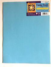 Craft Planet 9inch x 12inch Funky Foam Blue