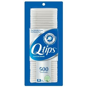 Q Tips Original Cotton Swabs 500 count