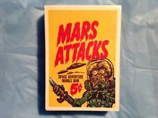 1984 Mars Attack Reprint Complete 56 card set Factory Sealed-Galasso