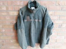 Mens Polartec Fleece Jacket Military Cold Weather Green Size Large