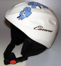 CARRERA Kinder Ski Helm Kids Skihelmet TOP GUN 7KB WHITE Gr.54/XS