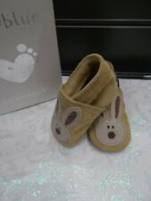 Inch Blue Baby Shoes  0 - 6 months