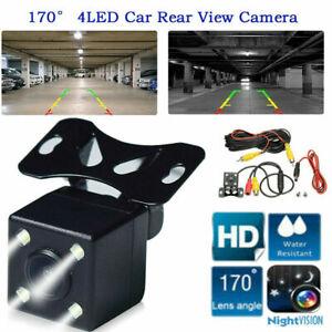 Waterproof Car Reversing Parking Camera Rear View LED Sensor Reverse Cam HD 170°