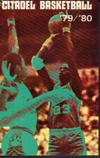 1979-80 Citadel Basketball Schedule 101917jh