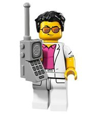 LEGO Minifigures Series 17 71018 YUPPIE 80s Guy Mobile Phone Miami Vice SEALED