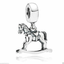 New Authentic Pandora Charm  Rocking Horse Bead 791413 Box Included
