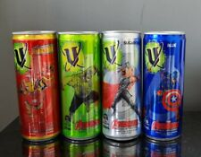 Avengers Collectable V Energy Drink Cans