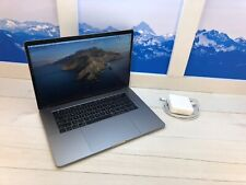 """Apple MacBook Pro Touch Bar 2017 15"""" Laptop 2.8GHz QC i7 256GB Space Gray Good"""