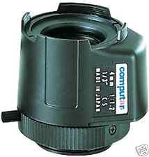 "Obiettivo Computar TG0412FCS-3, lente autoiris, CS,  1/3"", ottica 4 mm, F 1.2"