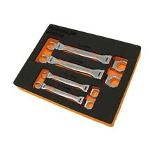 Franklin 4 Piece Flexible Head Flare Nut Wrench Set Metric 8 - 19mm AF2714