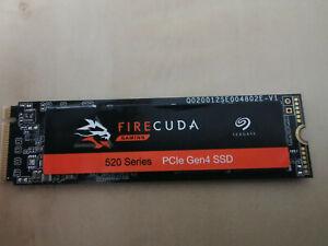 Seagate FireCuda 520 SSD (ZP1000GM30002) 1TB 1000GB PCIe NVMe M.2 Gaming-SSD