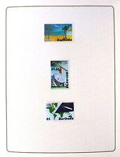 Barbuda 1986 HALLEY La Cometa (3) altri prove nella cartella formato fp8437