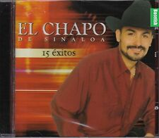 El Chapo de Sinaloa 15 CD  Exitos New Nuevo Sealed