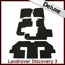 Landrover Discovery 3 7Seater Tailored LUXURY 1300g Car Mat 1 Clip