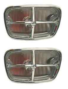 1969 - 1973 TRANS AM FRONT TURN SIGNAL - PARKING LIGHT ASSEMBLY SET - COMPLETE