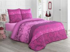Bettwäsche 200x220 Baumwolle Bettgarnitur mit Reißverschluss 3 teilig L-12419