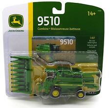 2017 ERTL 1:87 HO SCALE *JOHN DEERE* Model 9510 COMBINE w/Corn Head NIP!