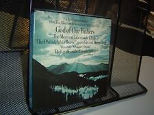 GOD OF OUR FATHERS Mormon Tabernacle Choir Philadelphia Brass REEL TO REEL TAPE