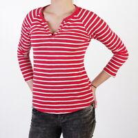 Levi's rot / weißes Langarmshirt für Damen