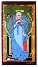 G.O.T. Mother of Dragons Poster Fine Art Print Signed Bob Masse Art Nouveau Mint