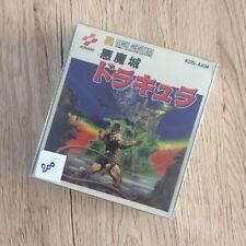 Akumajo Castlevania Dracula Disk System Famicom NES Nintendo Konami New & Sealed