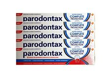 5x Parodontax complete protection Fluorid Zahnpasta NEU Zahncreme 75ml