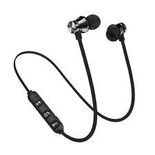 Bluetooth 4.2 Magnetic In-Ear Headphone Stereo Earphone Headset Earbuds Black