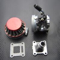 19mm Carburetor Air Filter for 2 Stroke Mini Moto ATV Dirt Pocket Bike 47cc 49cc