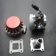 19mm Carburetor Air Filter for 2 Stroke Mini Moto ATV Dirt Pocket Bike 47cc 49cc