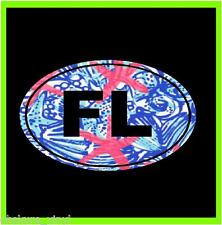"4"" FLORIDA FL OVAL HOME PRIDE STATE CUSTOM PRINT VINYL DECAL STICKER CAR"