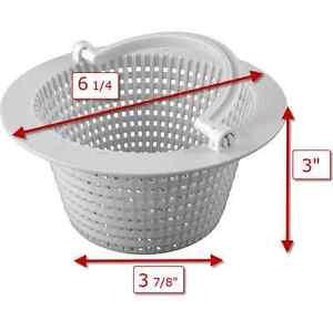 Above-Ground Pool Thru-Wall Skimmer Basket for Pentair HydroSkim Skimmer 513330