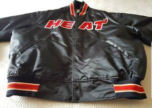 Starter Miami Heat Satin 90er Jacke Jacket MLB/NFL/NBA