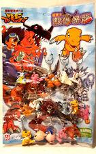 Digimon Schlüsselanhänger Figuren 15 verschiedene Neu aus einem Lagerbestand