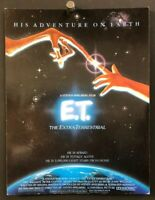 E.T. The Extraterrestrial Original Movie Program Spielberg    *Hollywood Posters