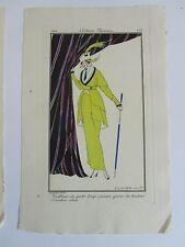 Journal Dames Modes 67, pl. 151 152 153 Fabius Lhuer Boutet Monvel 1913 complet